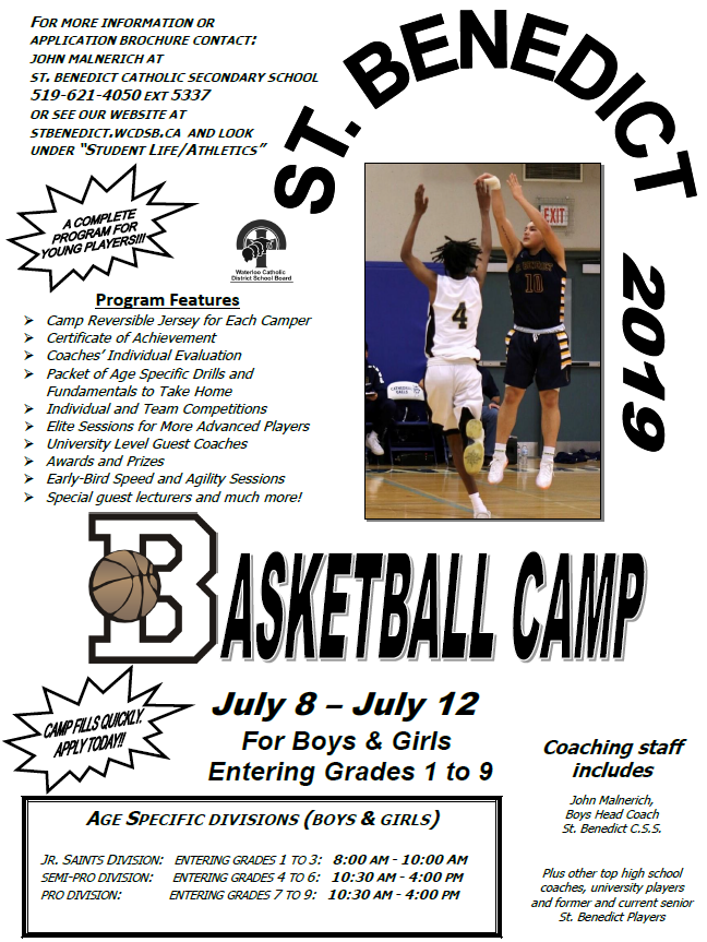 Summer basketball camp 2019