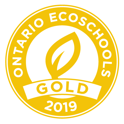 Gold EcoSchools Certification 2019