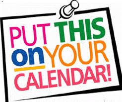 put on calendar