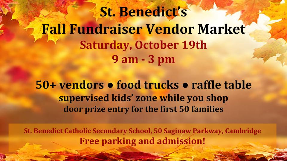 Fall vendor market