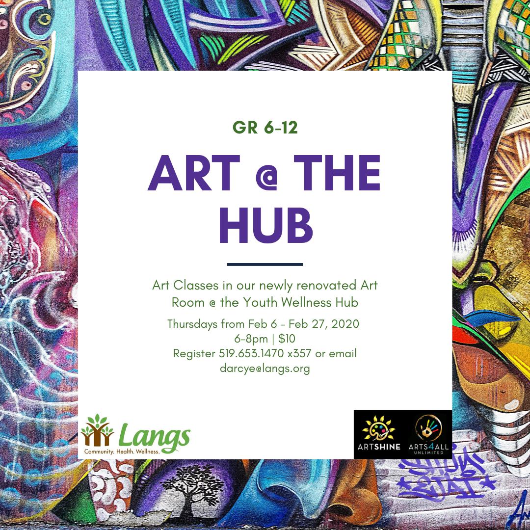 YWH Art @ the Hub