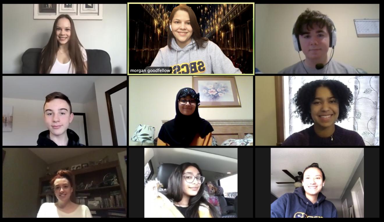 Yearbook virtual meeting