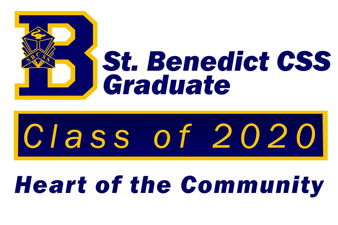Bennies Grad Sign